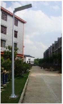 Integrated Solar LED Street Lights Delhi NCR   Navaid Energy